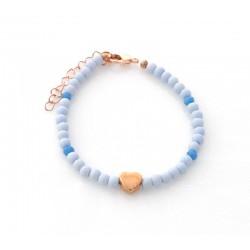 Armband Heart Blue